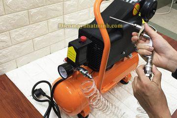 Giá máy nén khí mini 200V giá rẻ tại Hà Nội