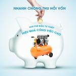 Máy nén khí Trung Quốc giá rẻ, hoạt động ổn định