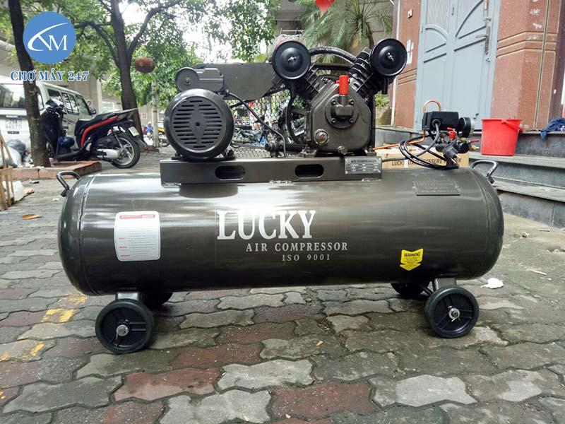 Máy nén khí công nghiệp Lucky được đánh giá cao về chất lượng, giá thành rẻ